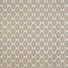 Taupe Ovale PVC Vinyl Wachstuch abwaschbar Tischdecke, 140cm x 200cm (109,2cm) Rechteck