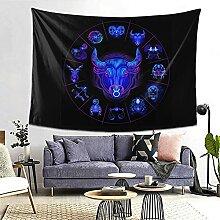 Taurus Hippie Neon Horoskop Kreiszeichen