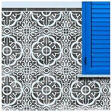 TAVIRA FLIESE Wand Möbel Fußboden Stencil für
