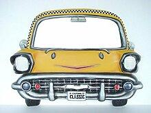 Taxi als Wandspiegel verkleinert 84cm für