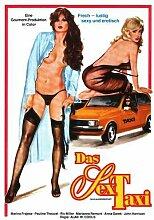 Taxi For Ladies Poster 01 Metal Sign A4 12x8 Aluminium