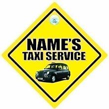 Taxi Service Auto Schild,Auto