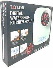 Taylor Digitale Küchenwaage, wasserdich