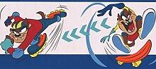 Taz auf Skateboard und Rollerblades Looney Tunes