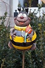 TB Keramik Gartenkugel Biene Maja 18 cm