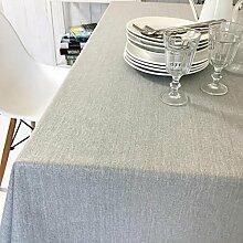 TBCZHB Baumwoll Leinen Tischdecke Wasserdichte
