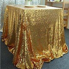 TBCZHB Golden Tuch Tischdecke Bankett Hotel Mit