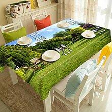 TBCZHB Tischdecke mit Polyesteraufdruck