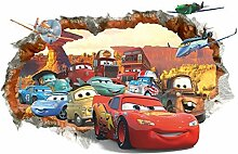 Tclothing Dekoration Wandsticker Cars Disney