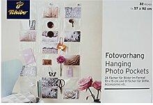 TCM Tchibo Fotovorhang zum Aufhängen a.d. Wand