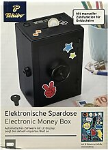 TCM Tchibo Sparschwein TRESOR mit elektronischem Zählwerk & LC Display Sparen Spardose