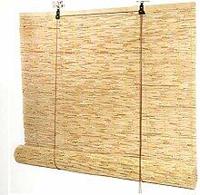 TCYLZ Natürliche Reed Fenster Schatten, Bambus