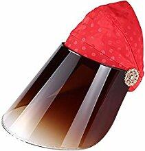 TD Sonnenhut Weiblicher Sonnenschutz Hut
