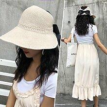 TD Sun Hat Female Sommer Reise Anti-UV Abdeckung