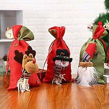 TDDEV 3er Pack Weihnachtsschmuck