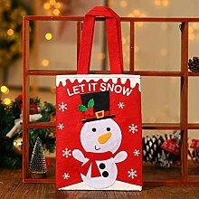 TDDEV Weihnachtsdekorationen Einkaufstaschen