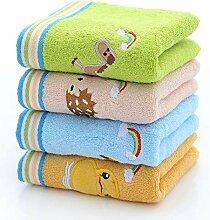 TDPYT 4 Stücke/Kinder Handtuch Reine Baumwolle