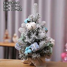 TDPYT Weihnachtsbaum Beflockung