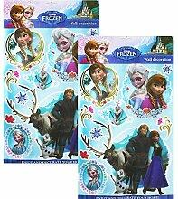 TE-Trend 2 Stück Disney 3D Poster Disney Frozen