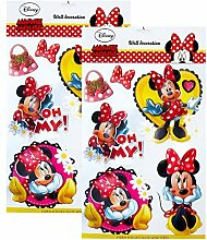 TE-Trend 2 Stück Disney 3D Poster Disney Minni