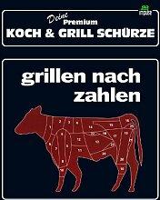 TE Trend Grill-/Kochschürze Spruch grillen nach Zahlen, schwarz
