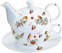 Tea 4 One 'Christmas Ornaments' Porzellan