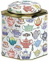 Tea Caddy - Cut Corner - TEAPOTS DESIGN - 13cm by Buzz
