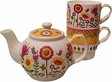 Tea for one 'Blumengarten', 18 cm,