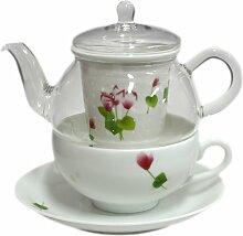 Tea for one im Dezember Alpenveilchen TFO-003