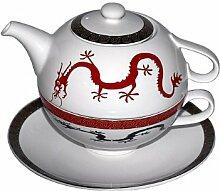 Tea-for-One Magic Dragon Porzellan