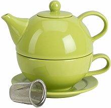 Tea for One mit Teesieb Citron