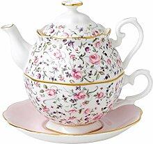 "Tea-for-one-Teeset ""Rose Konfetti"" von Royal"