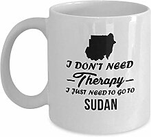 Tea Mugs- Funny Cup WithPrinted Sudan I Don't