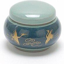 Teacera Gewürzdose mit Deckel, Keramik, 454 ml
