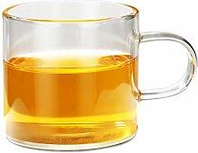TEAHOM Glas Teekanne Teebereiter kanne 1L mit