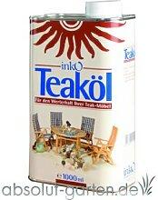 Teak Öl Teakholz Pflegeöl von Inko