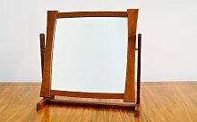 Teak Schminkspiegel von Glas & Trä, 1950er