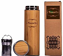 Teakays Bambus-Becher mit Tee-Ei