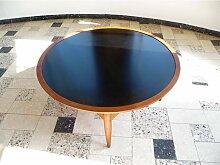 Teakholz Couchtisch mit Doppelseitiger Tischplatte