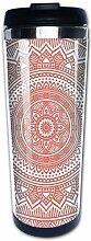 Teal Ombre Mandala Antik Gypsy Cosmos Kaffeetassen