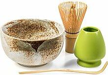 Tealyra - Matcha Tee Grüner Set - 4 Artikel -