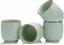 TEANAGOO Asiatische Teekanne und passende Tassen,