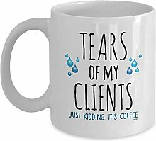 Tears of my Clients Mug Funny Coffee Cup Gifts -