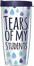 Tears of my Students Becher mit marineblauem