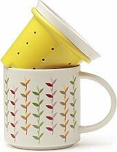 TEASOUL B6021054 Porzellanbecher mit Filter