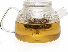TEASPEC Lazy Pour Glas-Teekanne mit