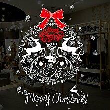 TEBAISE Sticker Weihnachtsdeko Weihnachtssticker