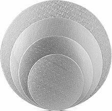Tebery Kuchenplatte, rund, aus Pappe, 15,2 cm +