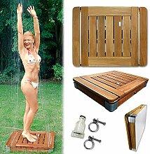 @tec Bodendusche Mobile Outdoor Gartendusche