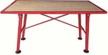 Tec Hit 500780Werkbank, zusammenklappbar Einlagefach Holz Belastung 200kg
